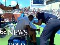 US Open umpire accused of giving player pep talk