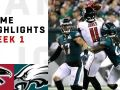 Falcons vs. Eagles Week 1 Highlights