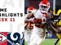Chiefs vs. Rams Week 11 Highlights