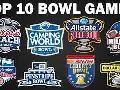 Top 10 Bowl Games for 2018-2019