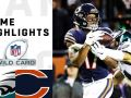 Eagles vs. Bears Wild Card Round Highlights