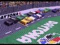 Daytona's biggest moments told with toy blocks