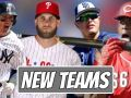 First Look At MLB Stars With Their New Teams (2019)