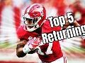 Top 5 returning Alabama Crimson Tide football players on offense
