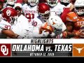 No. 6 Oklahoma vs. No. 11 Texas Football Highlights (2019)
