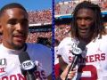 CeeDee Lamb, Jalen Hurts reflect on huge win over Texas in Red River Showdown