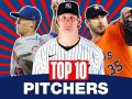 Top 10 Pitchers (Starters and Relievers) MLB Top Players (Gerrit Cole, Justin Verlander + others)
