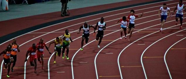 London 2012, The Olympic Games - 100m men's relay final