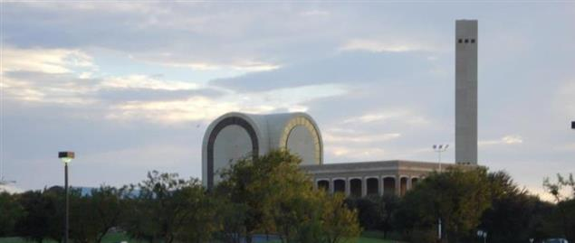 Abilene Christian University's Bible Building and Bell Tower