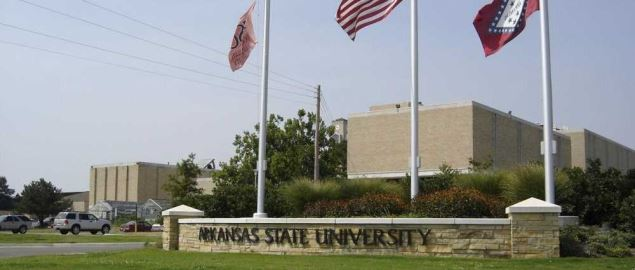 Arkansas State University, South entrance to the main campus