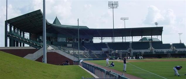 Baylor Ballpark at Baylor University.