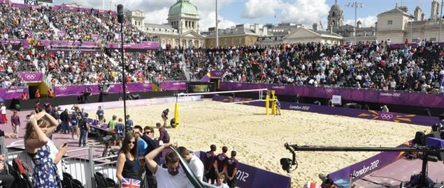 2012 London Olympics, Beach volleyball