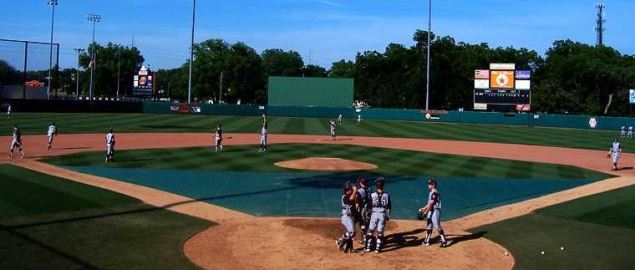 Allie P. Reynolds Stadium in Stillwater, OK. Home of the Oklahoma State Cowboys.