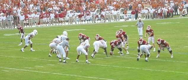 OU vs. Texas Big XII matchup from 2002
