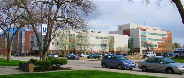 Micron Engineering center building at Boise State University