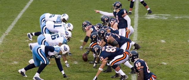 Chicago Bears vs. the Tennessee Titans