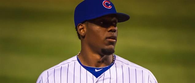 Cubs pitcher Jorge Soler.