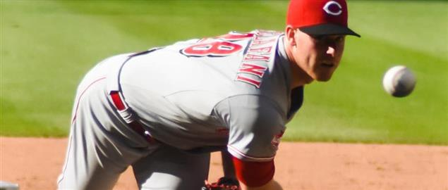 Cincinnati Reds pitcher Anthony DeSclafani, 5/29/15.