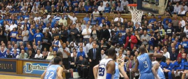 North Carolina Tar Heels vs. Duke Blue Devils at Cameron Indoor Stadium
