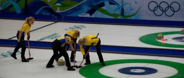 Women's Curling at the 2010 Winter Olympics.
