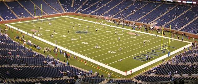 Detroit Lions Ford Field Stadium, 9/10/06.