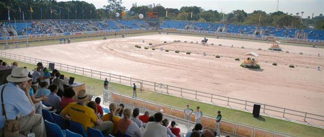 Equestrian dressage competition - Rio 2007 Pan American Games