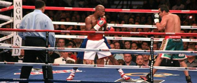 Floyd Mayweather, Jr. vs. Juan Manuel Márquez at the MGM Grand Garden Arena