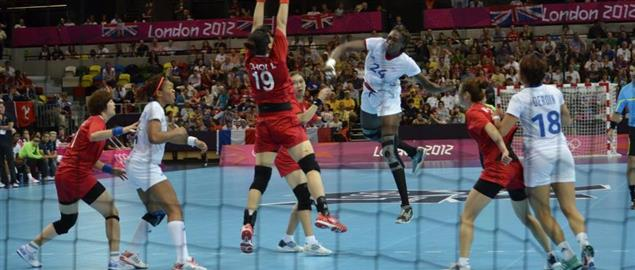 Handball at the 2012 Summer Olympics, France vs South Korea