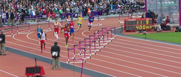 Men's 400m Hurdles Semifinals at the 2012 London Olympics