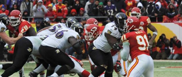 The Kansas City Chiefs take on the Baltimore Ravens.