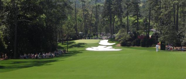 Hole 10 at Augusta National Golf Course
