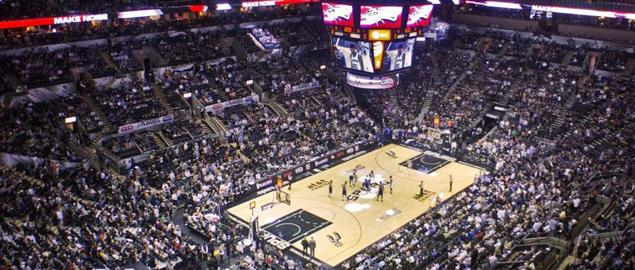NBA Playoffs Dallas Mavericks vs. San Antonio Spurs AT&T Center San Antonio Texas