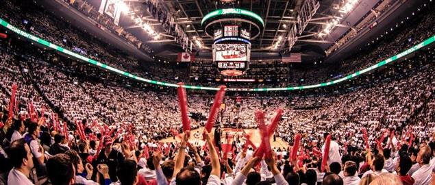 Brooklyn Nets vs Toronto Raptors, 2014 NBA Playoffs, Air Canada Centre