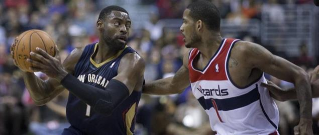 Pelicans number one against Wizards number one