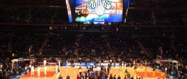 New York Knicks Vs. the Cleveland Cavaliers