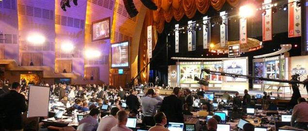 Staff for NFL teams at the 2010 NFL Draft.