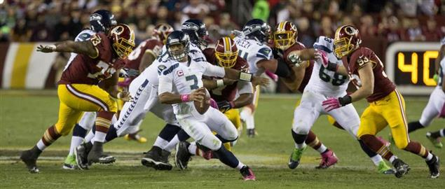 Seahawks at Redskins 10/6/14