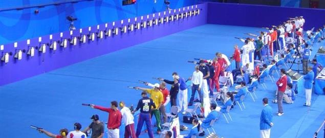 The shooting competition of the men's Modern pentathlon at the 2008 Summer Olympics
