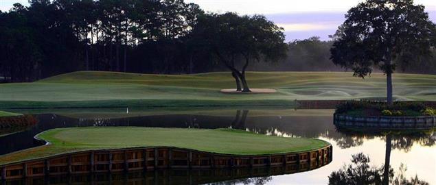 The famous #17, TPC Sawgrass in Ponte Vedra, Florida, home of the Players Tournament.