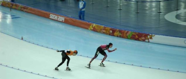Men's 10000 m at the 2014 Winter Olympics.