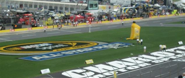 Charlotte Motor Speedway before the NASCAR Sprint All-Star Race XXVI.