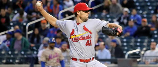 St. Louis Cardinals pitcher John Lackey.