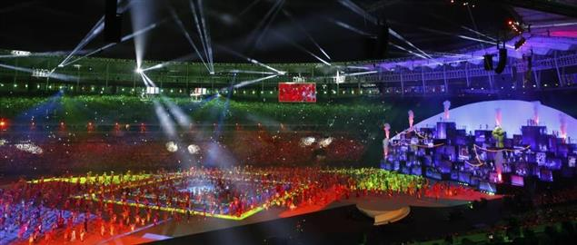 The Opening Ceremony of the 2016 Summer Olympics Friday, August 5th in Rio de Janeiro