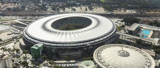 Rio de Janeiro's Maracana Stadium, home of the 2016 Olympic Opening & Closing ceremonies