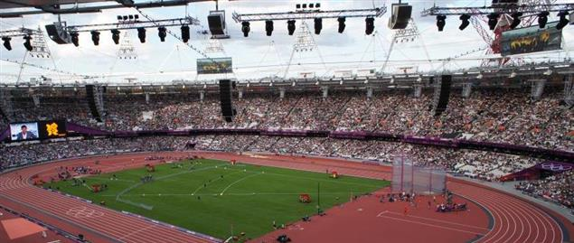 London 2012 Olympics Athletics Stadium
