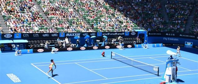 Women's Singles Match, Rod Laver Arena