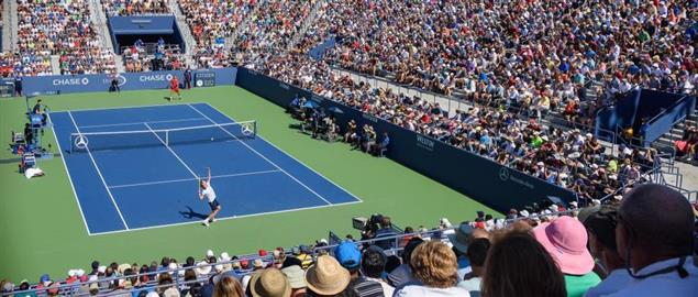 Richard Gasquet vs Bernard Tomic, 2015 US Open Tennis Tournament